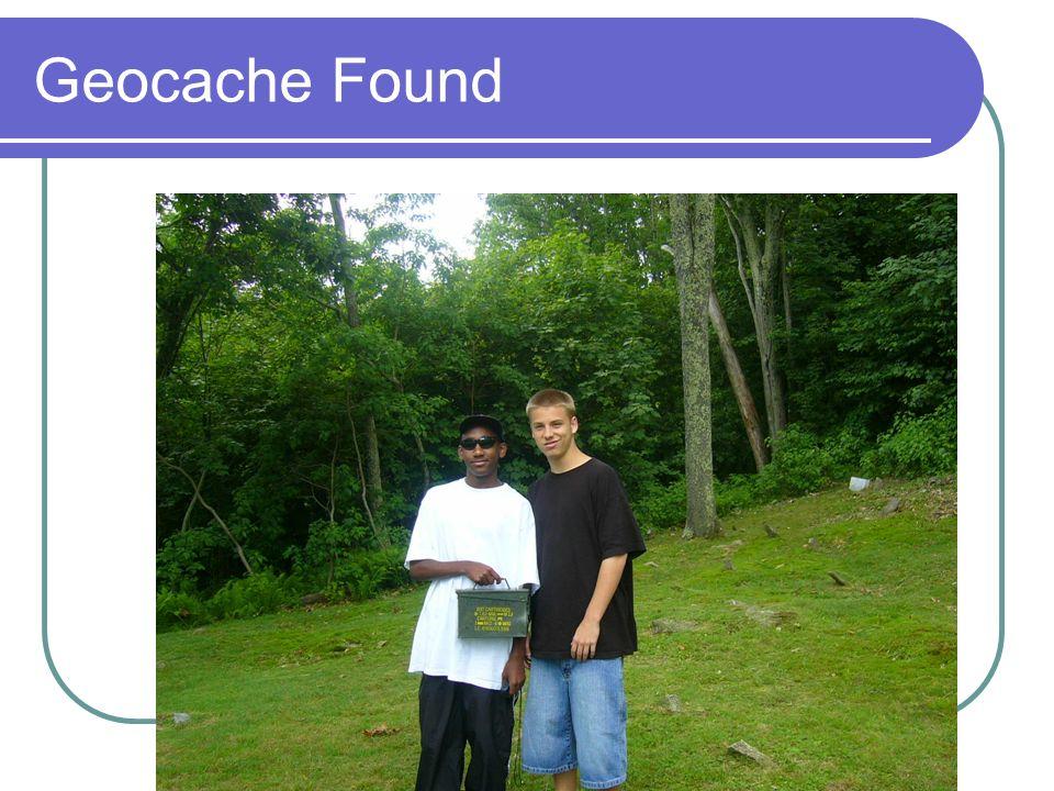 Geocache Found