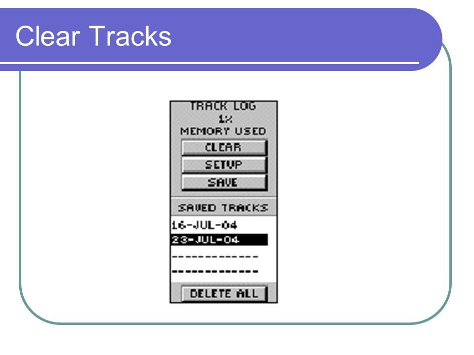 Clear Tracks