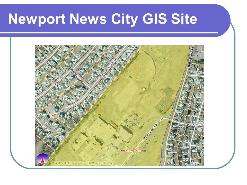 Newport News City GIS Site