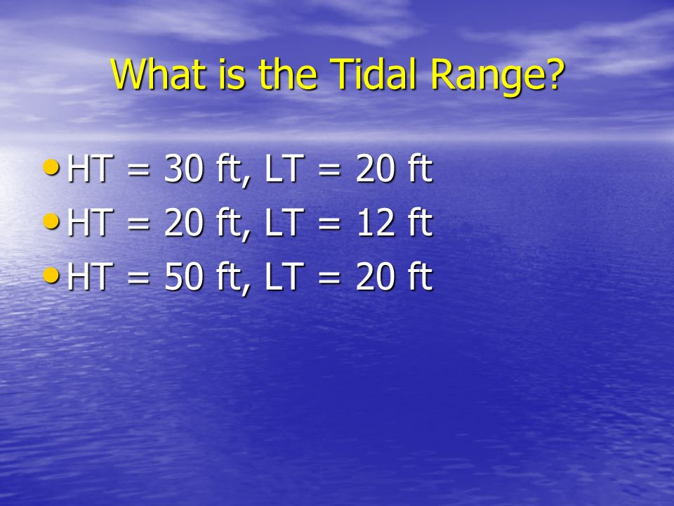Tides The rise and fall in sea level is called a tide. The rise and fall in sea level is called a tide. Caused by a giant wave. Caused by a giant wave