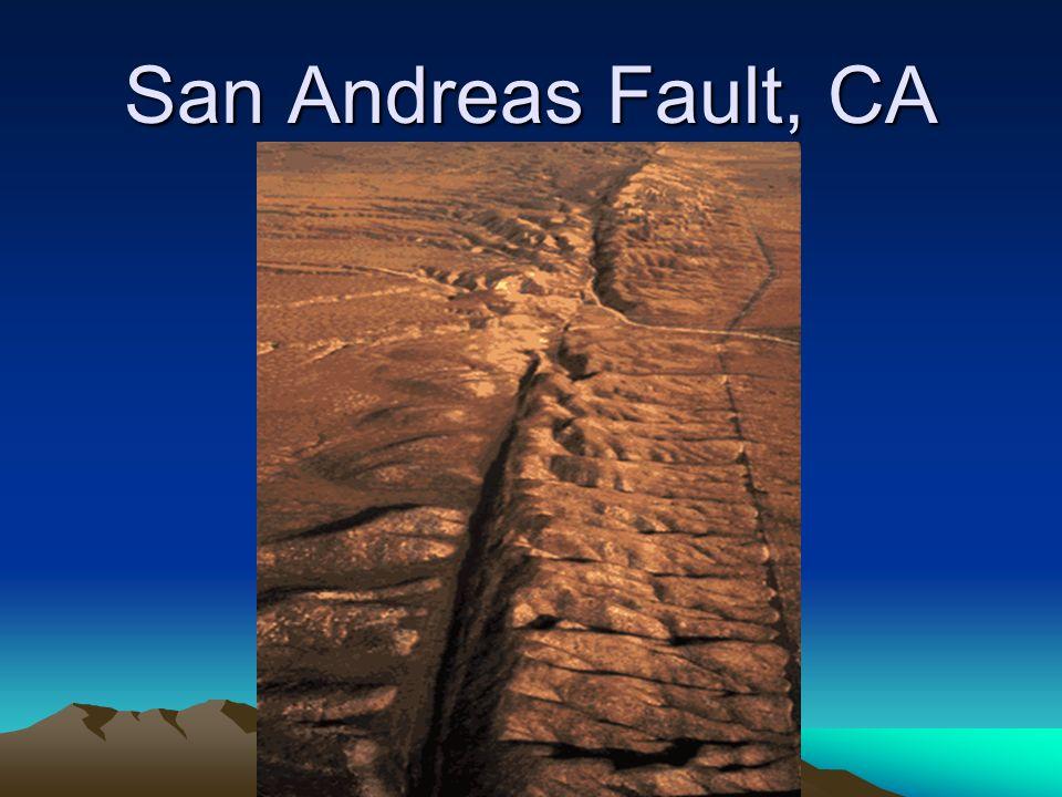 San Andreas Fault, CA