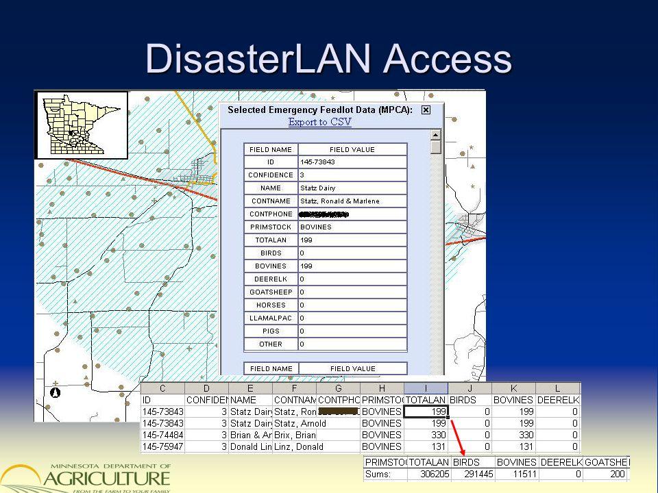 DisasterLAN Access