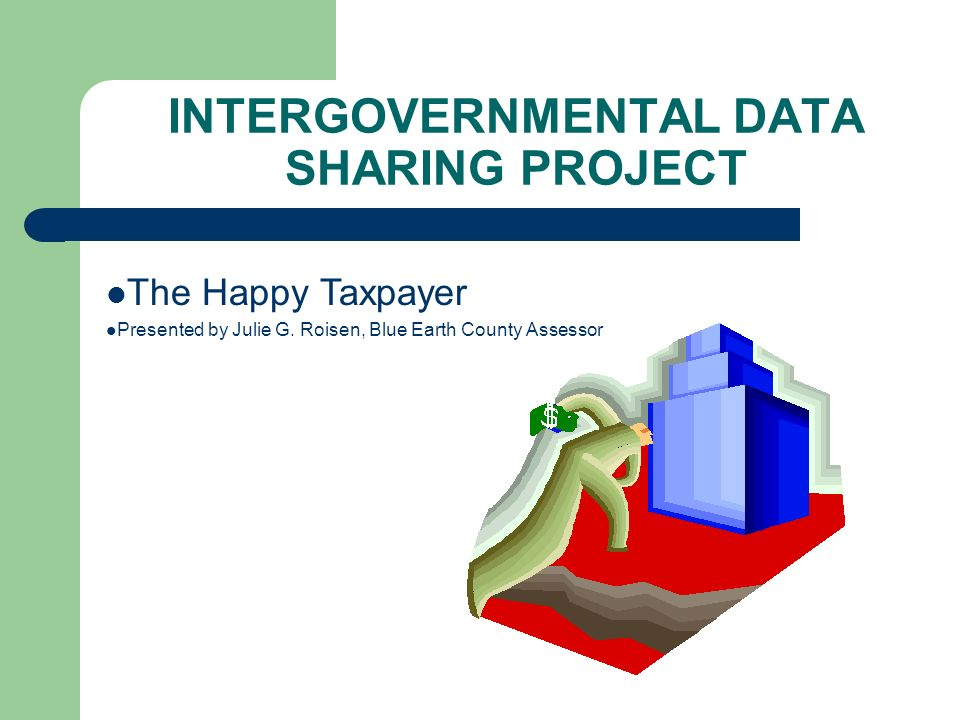 The Happy Taxpayer Presented by Julie G.