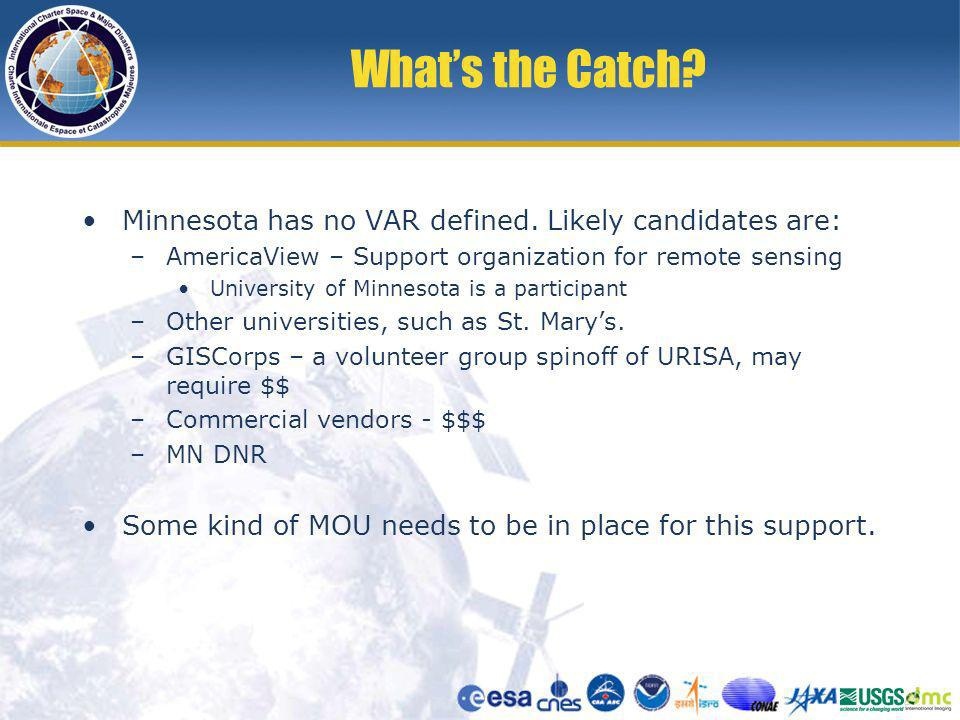Whats the Catch. Minnesota has no VAR defined.