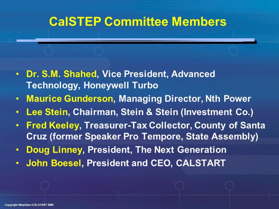 Copyright WestStart-CALSTART 2004 Dr. S.M.