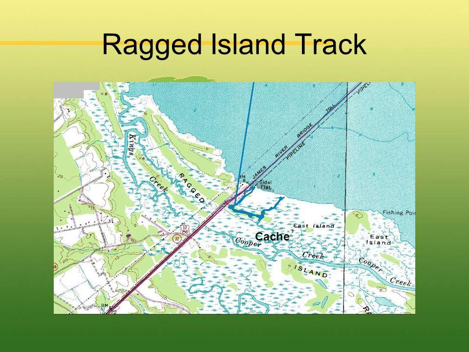 Ragged Island Track Cache