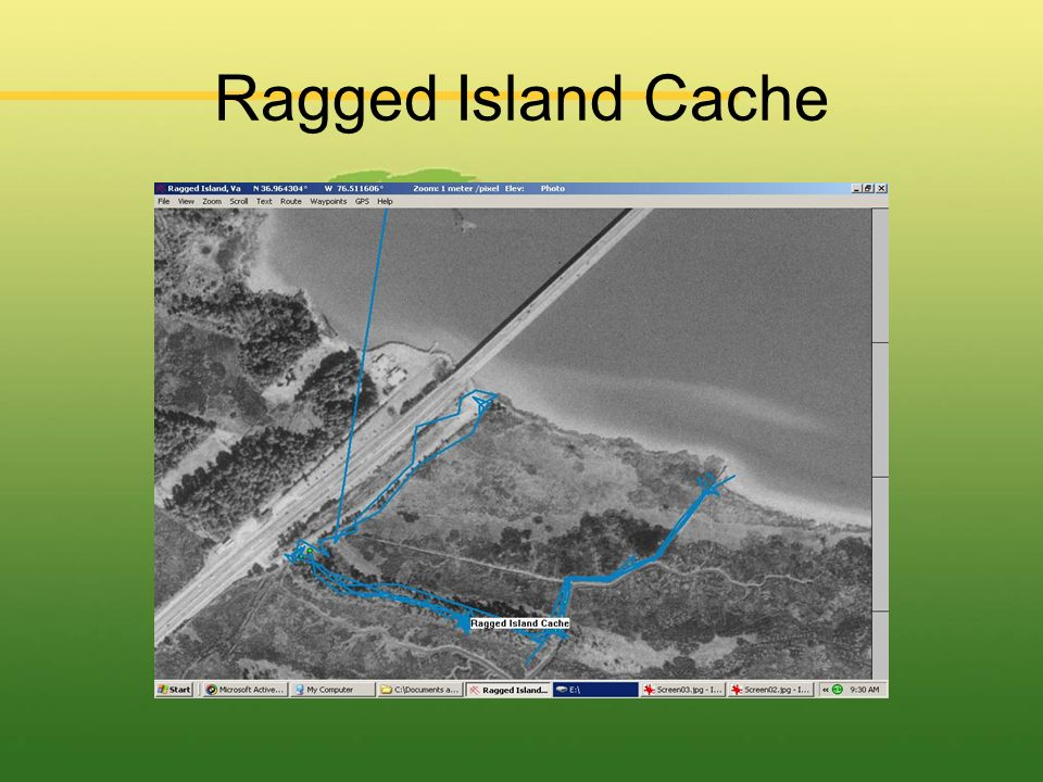 Ragged Island Cache