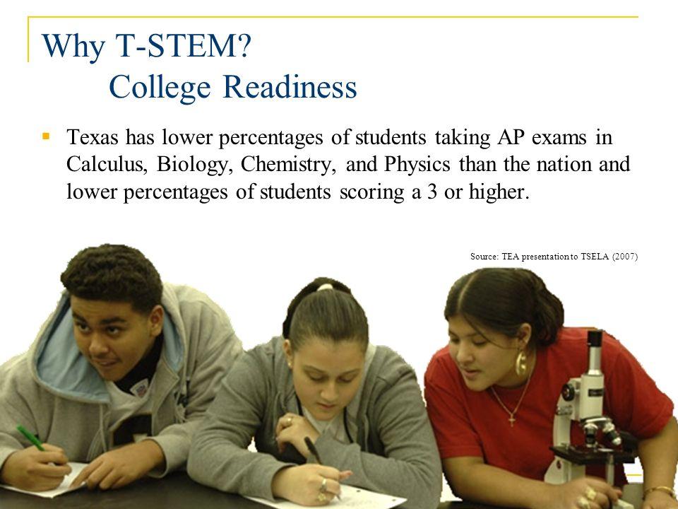 Why T-STEM.