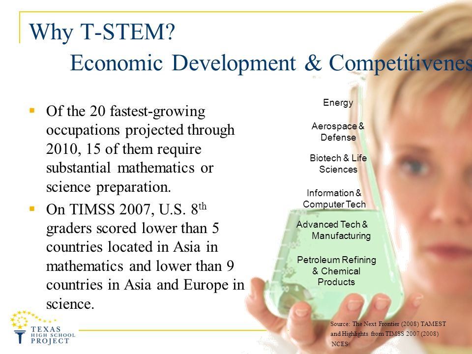 Why T-STEM Was Created.