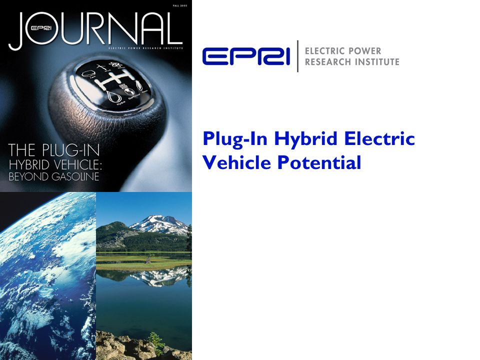 Plug-In Hybrid Electric Vehicle Potential