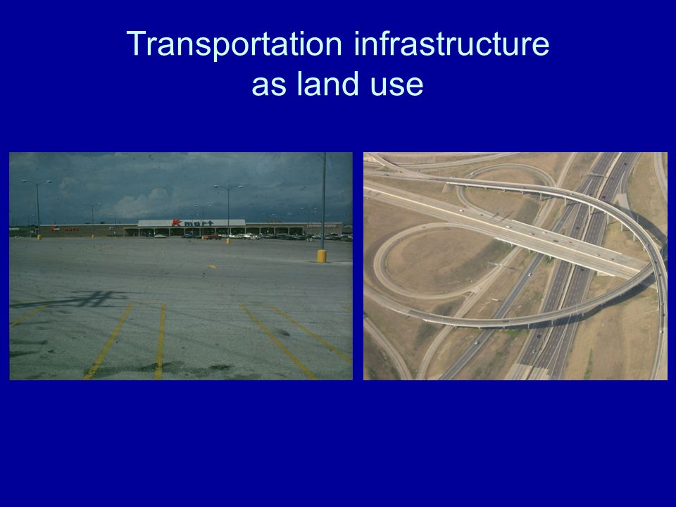 Transportation infrastructure as land use