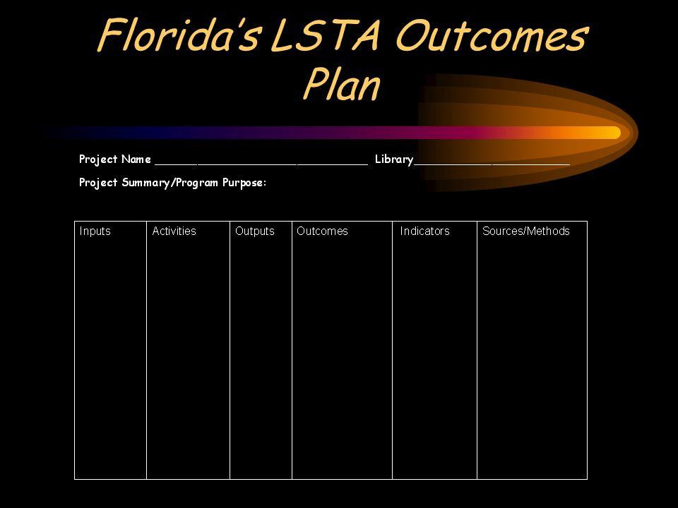 Floridas LSTA Outcomes Plan