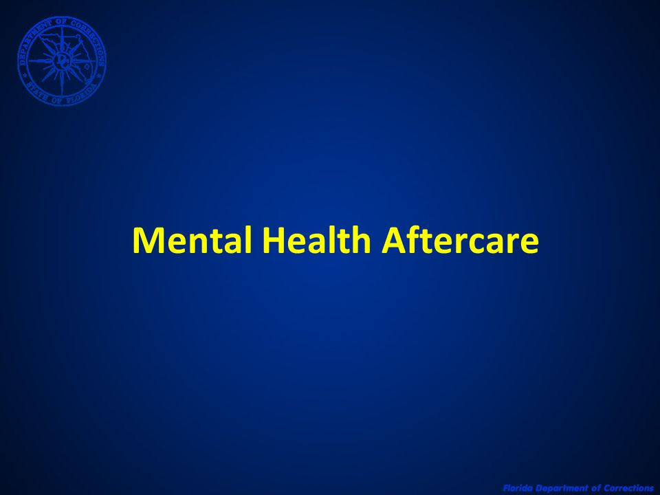Mental Health Aftercare