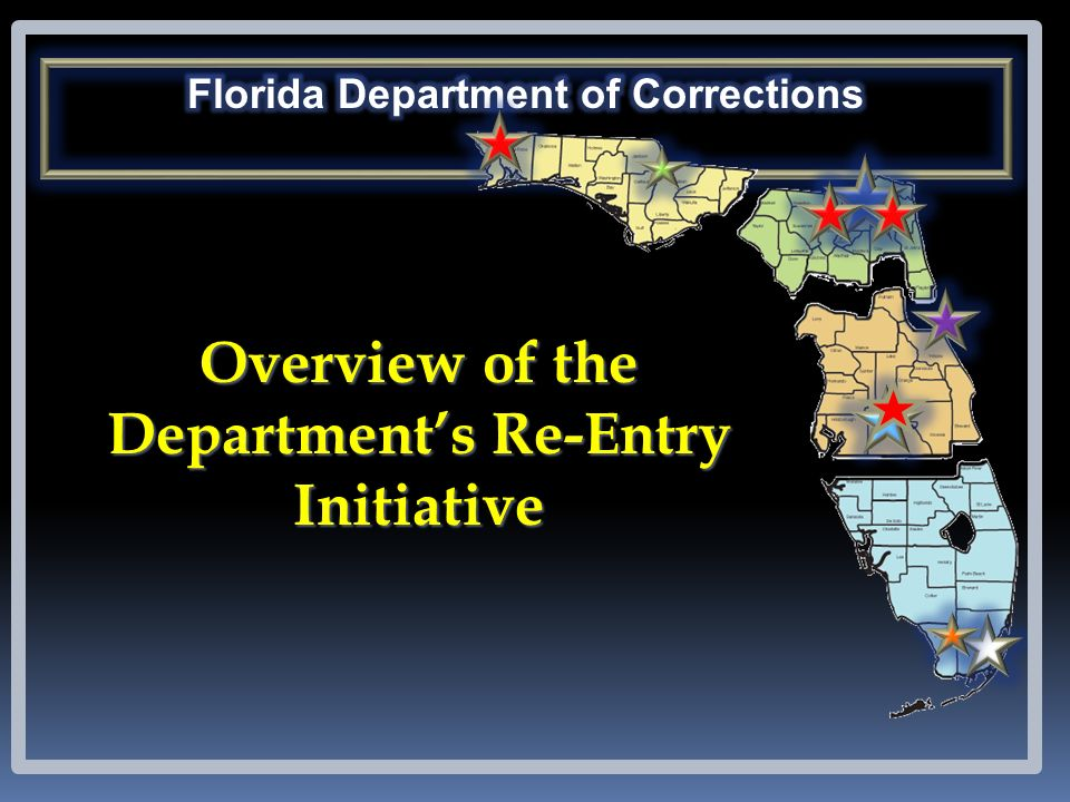 Overview of the Departments Re-Entry Initiative