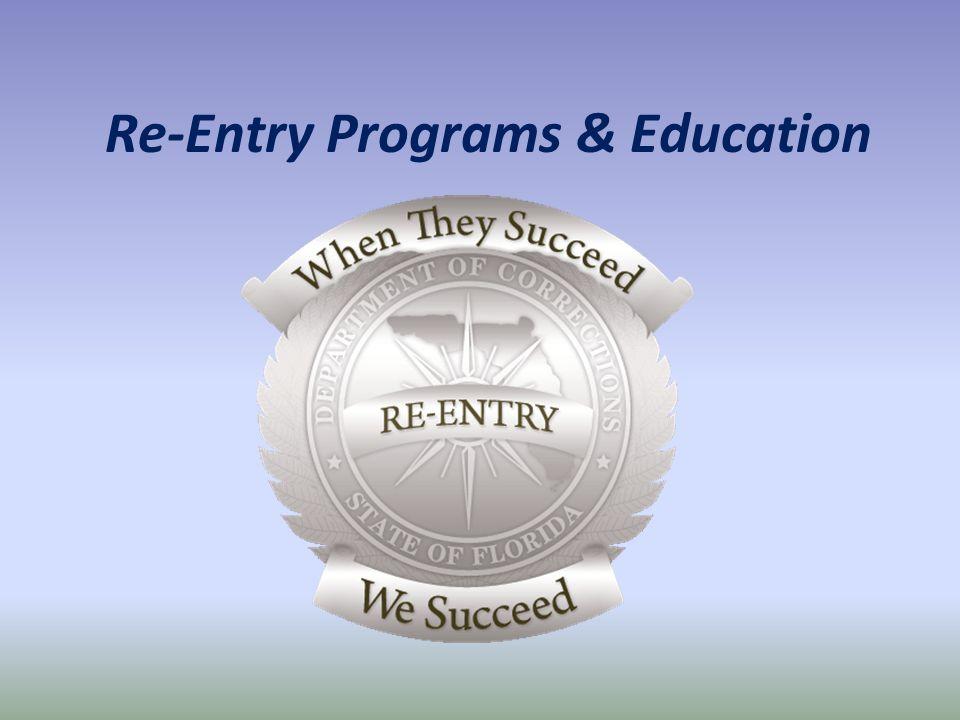 Re-Entry Programs & Education
