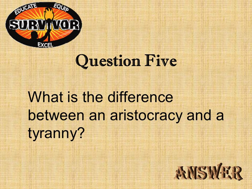 Challenge Four What are the two Greek root words in the word democracy and what do they mean