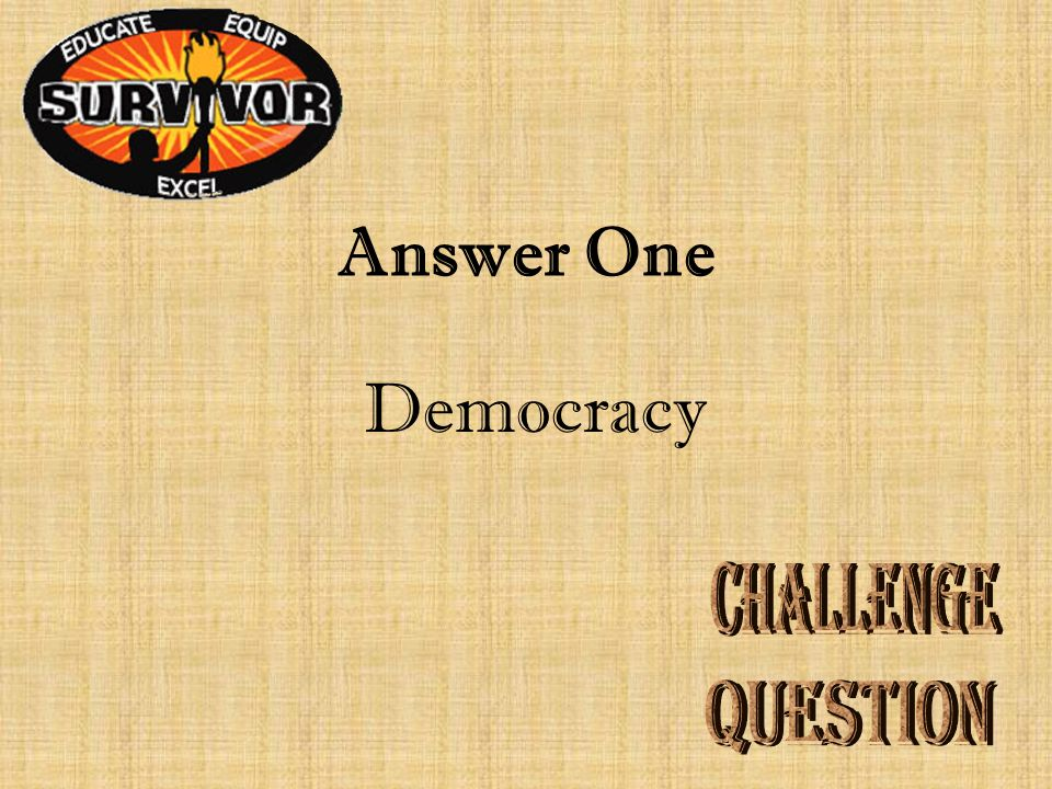 Question One Ancient Greece had a government in which poor men could participate in law-making.