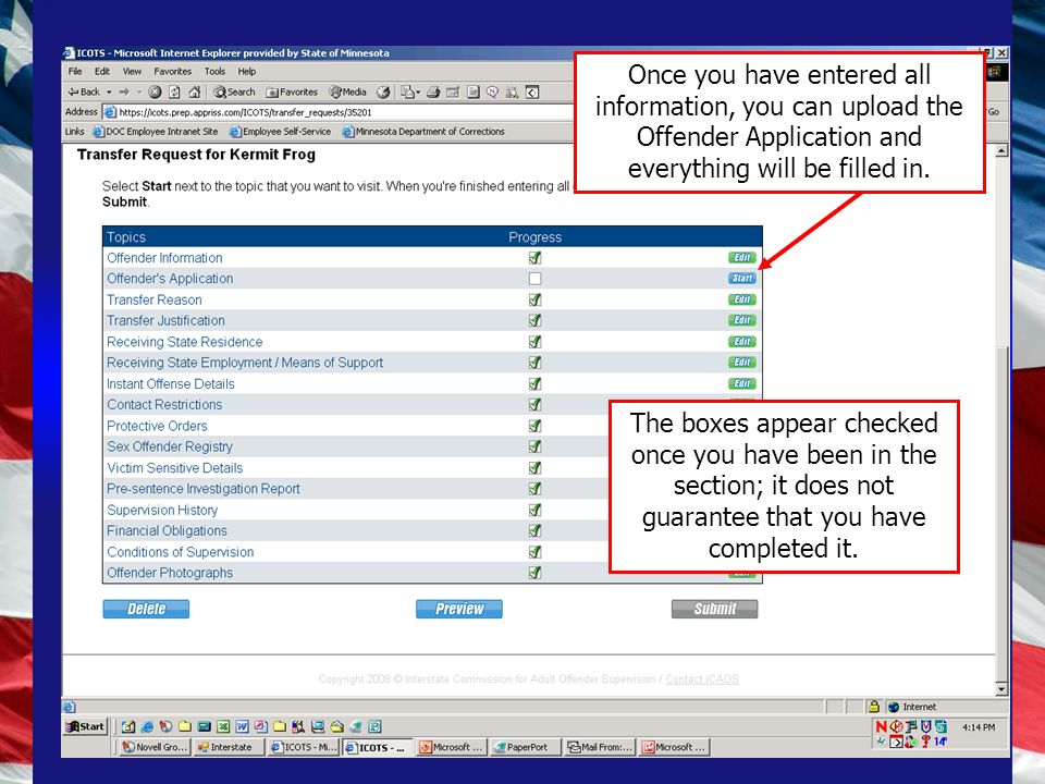 18 Additional Information Attach additional documents you believe are important even though they arent required by rule Only attach documents in one place –Once attached, you can refer to it but do not attach it in another area