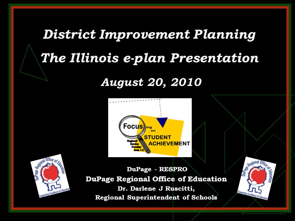 Assistance with Illinois e-Plans Interactive Illinois Report Card http://iirc.niu.edu/scripts/whatsnew110805.asp http://iirc.niu.edu/scripts/whatsnew110805.asp Contact the Regional Office for assistance Passwords: Send a request with District/School Name and RCD code to Gail Buoy at gbuoy@isbe.net gbuoy@isbe.net