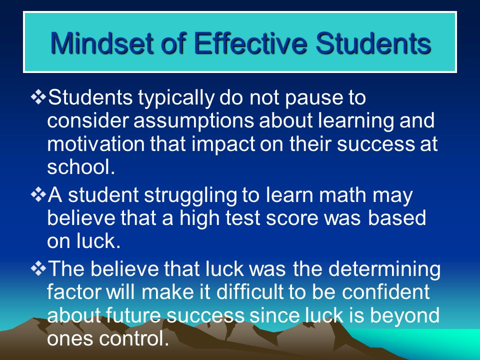 factors that determine success in school