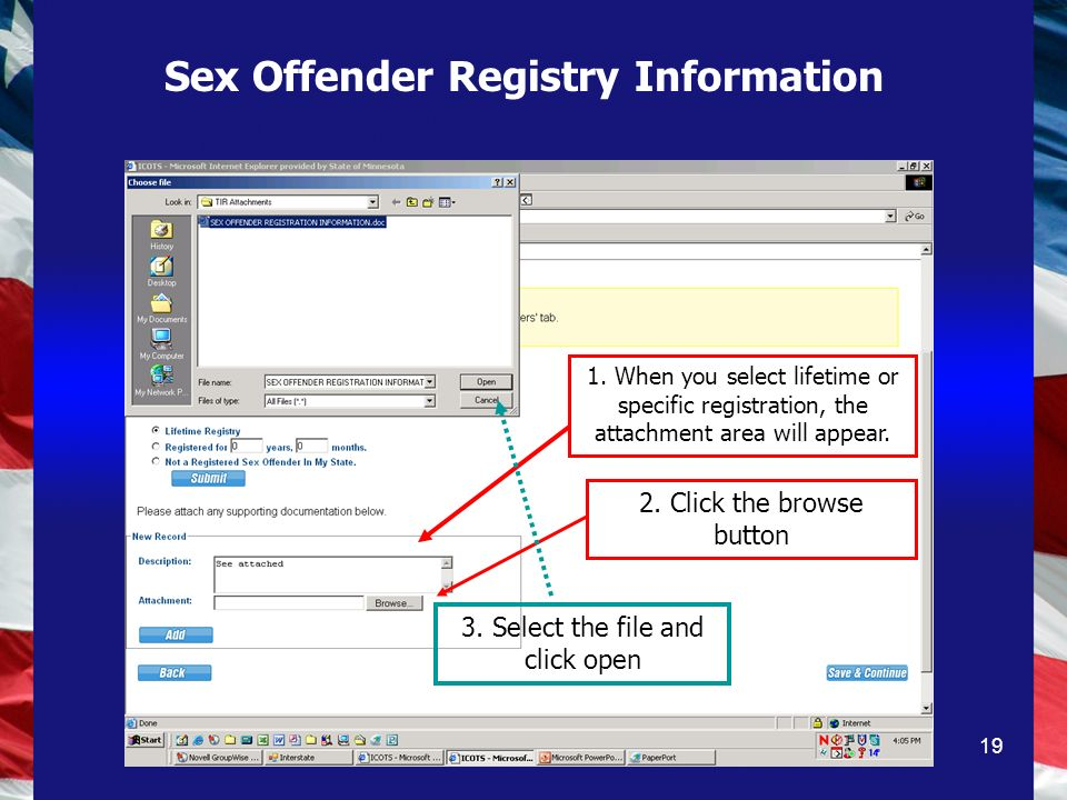 19 1. When you select lifetime or specific registration, the attachment area will appear.