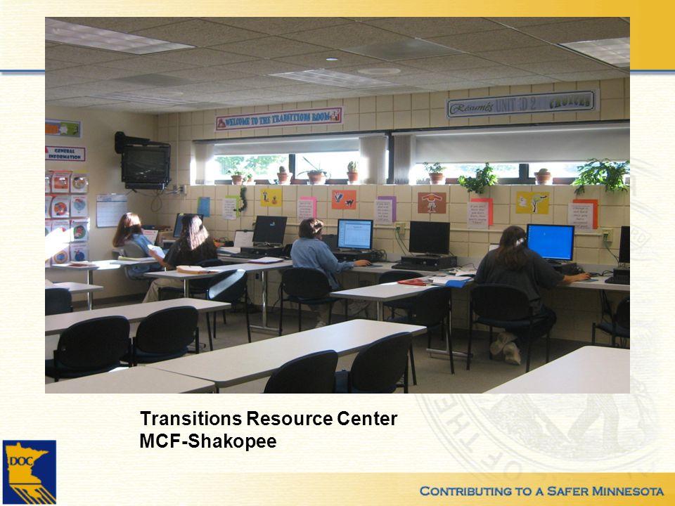 Transitions Resource Center MCF-Shakopee