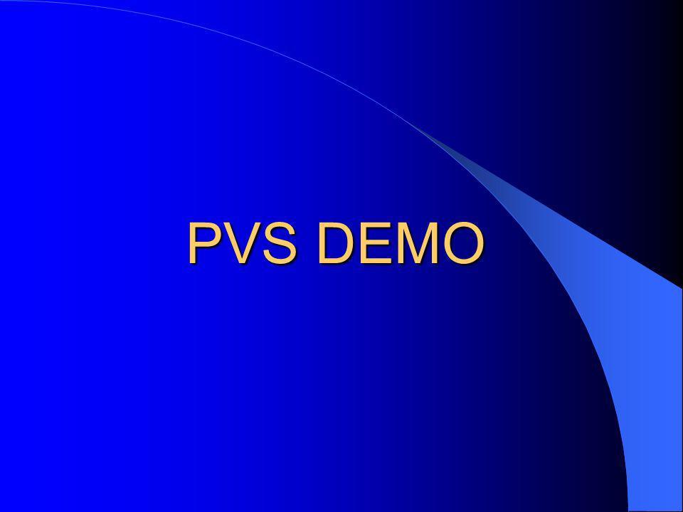 PVS DEMO