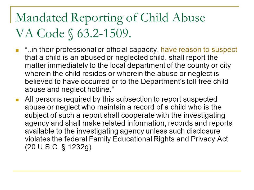 Child Protective Services and Identification of Prenatal Substance Exposure A blood or urine test of the infant or mother conducted within 48 hours of the infants birth indicates the presence of a controlled substance.