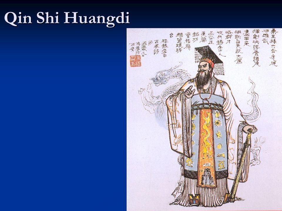 Qin Dynasty 221 B.C.– 206 B.C.