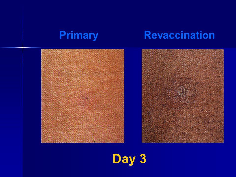 Day 3 PrimaryRevaccination