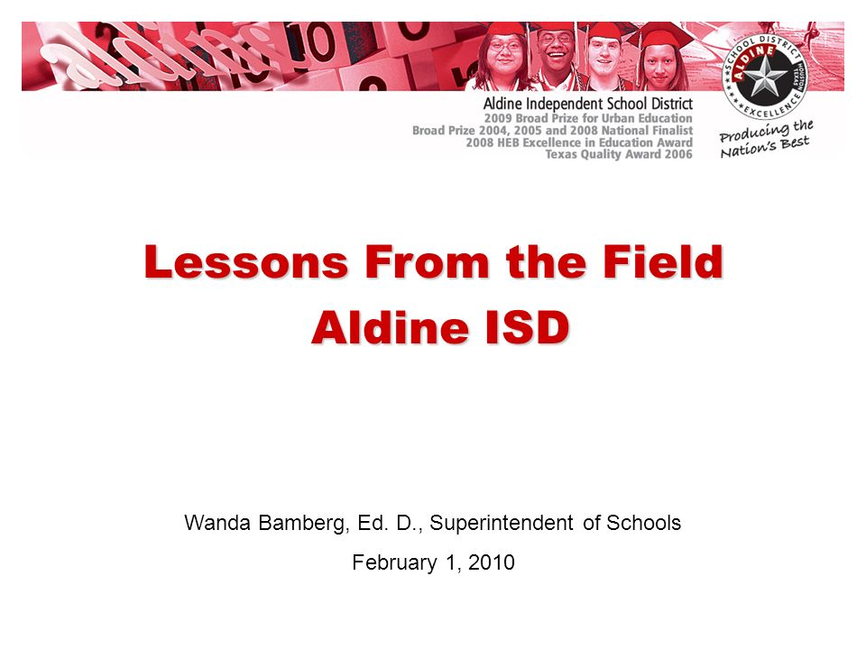 * Grade 3, 5, and 8 are First Administration Only TAKS Mathematics Comparison State of Texas and Aldine ISD – All Students Tested in English Spring 2009