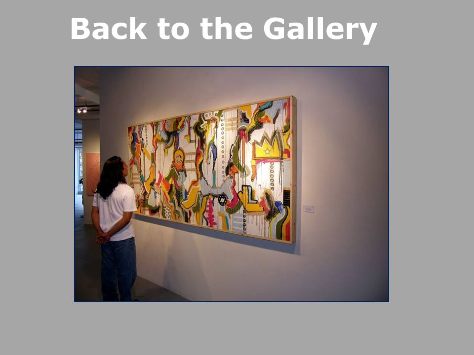 Back to the Gallery