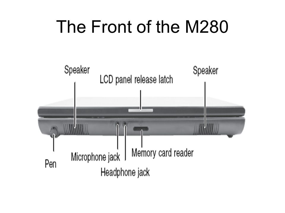 The Front of the M280