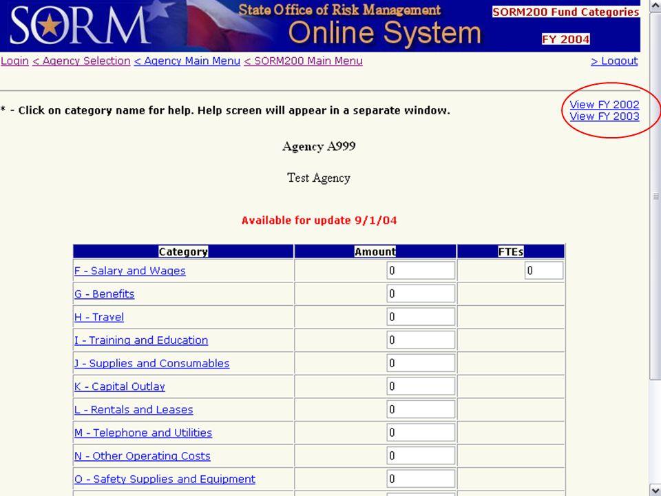 August 26, 2004 Risk Management User Group31