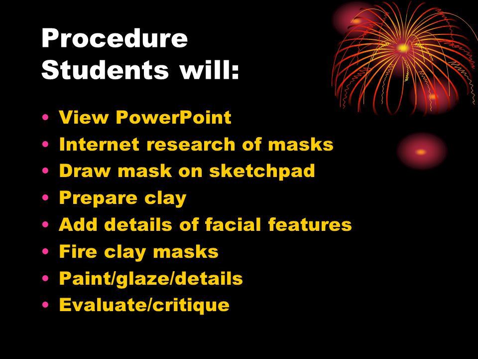 Items to Include : 1.Content will be presented using a PowerPoint presentation/picture examples.