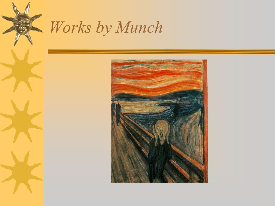Works by Munch