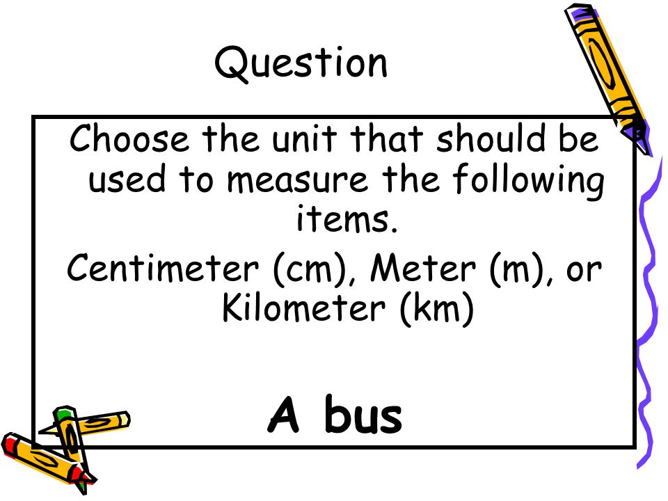 Answer A Hamster - Centimeter