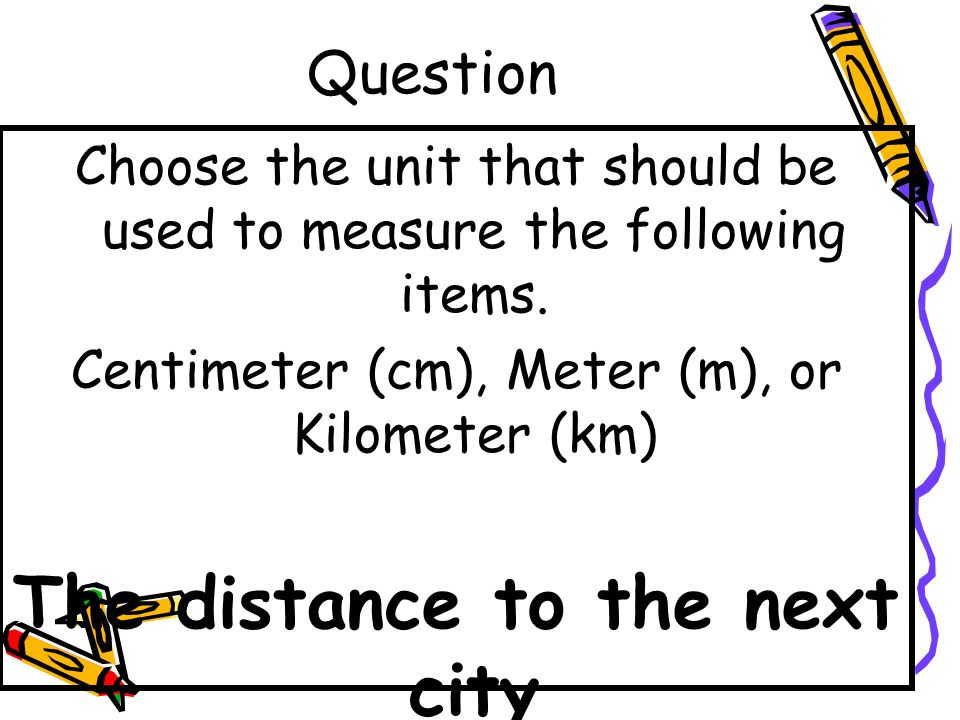 Answer A bus - Meters
