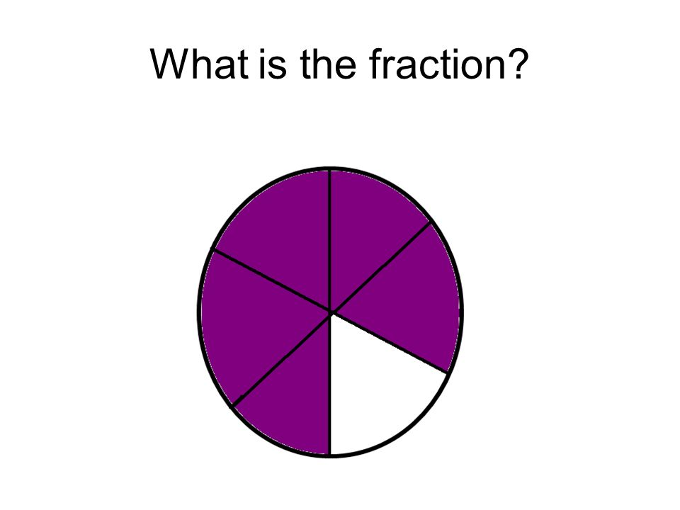 What is the fraction?