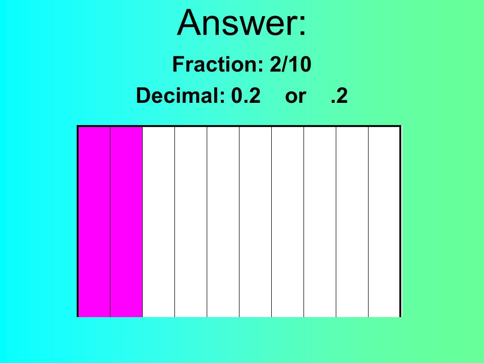 Question: Write the fraction and decimal to match the money amount shown.