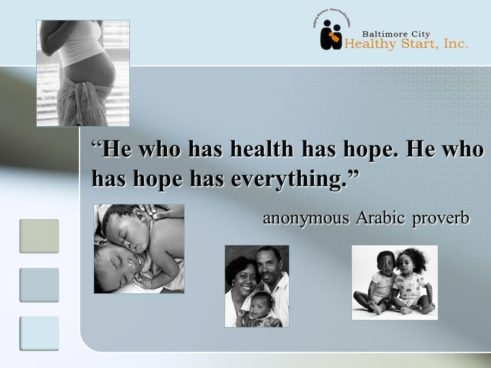 He who has health has hope. He who has hope has everything.