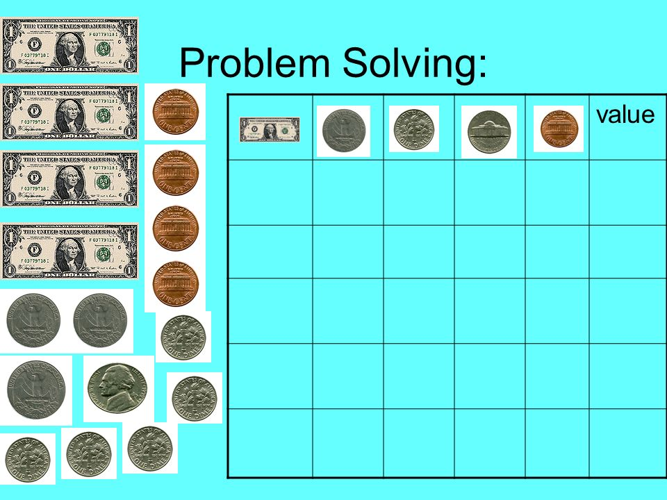 Problem Solving: value