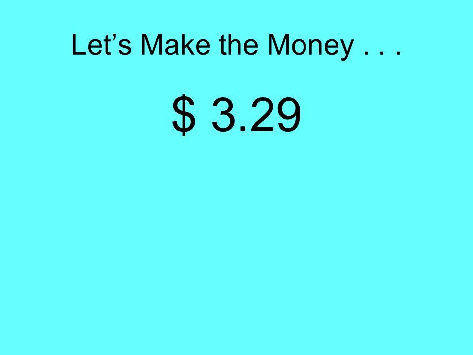Comparing Money Amounts Bens Money Mings Money