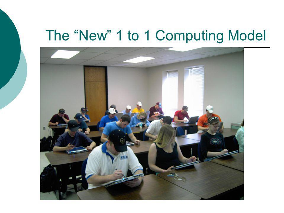 The New 1 to 1 Computing Model