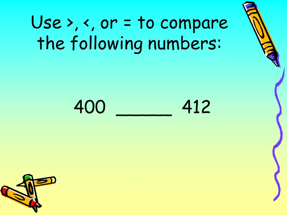 Chapter 3 Review Comparing Numbers Ordering Numbers Rounding Numbers Using Bar Graphs