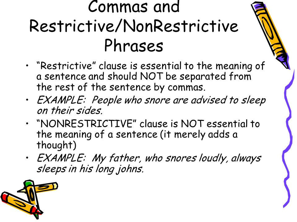 Dashes (-) Separate a word or group of words from the rest of the sentence –Either indicate an abrupt break in thought or… –Introduce and explanation or afterthought LETS LOOK AT SOME EXAMPLES….