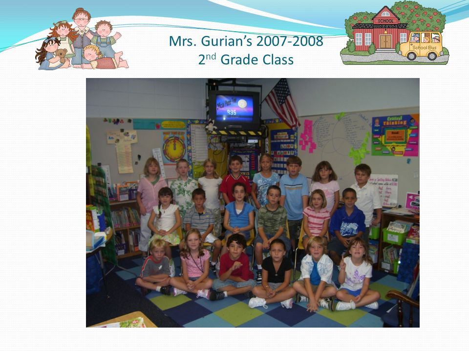 Mrs. Gurians 2007-2008 2 nd Grade Class