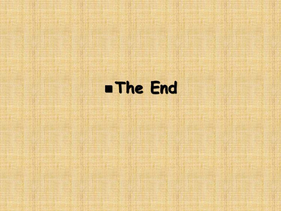 n The End