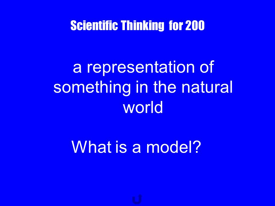 Scientific Thinking for 100 the one variable that you change in a scientific investigation What is a manipulated variable