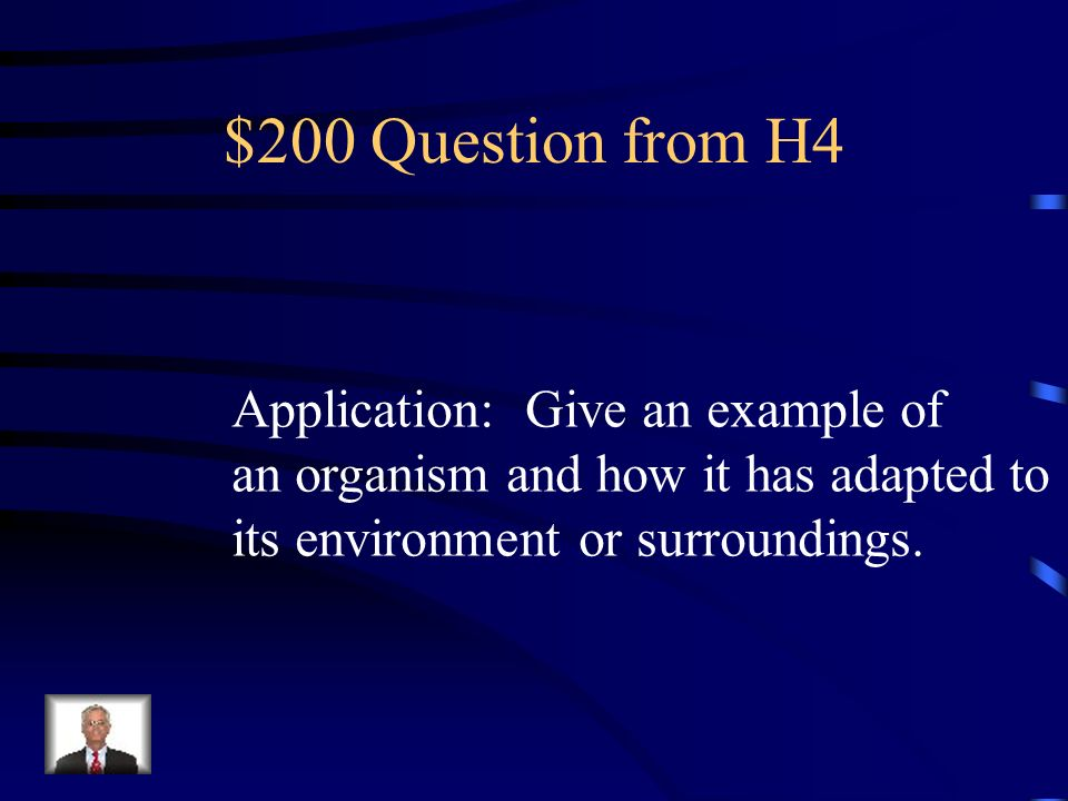 $100 Answer from H4 Respond